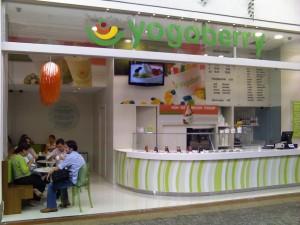 Yogoberry em Brasilia no Pier21